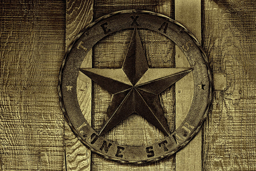 Texas Lone Star Photograph