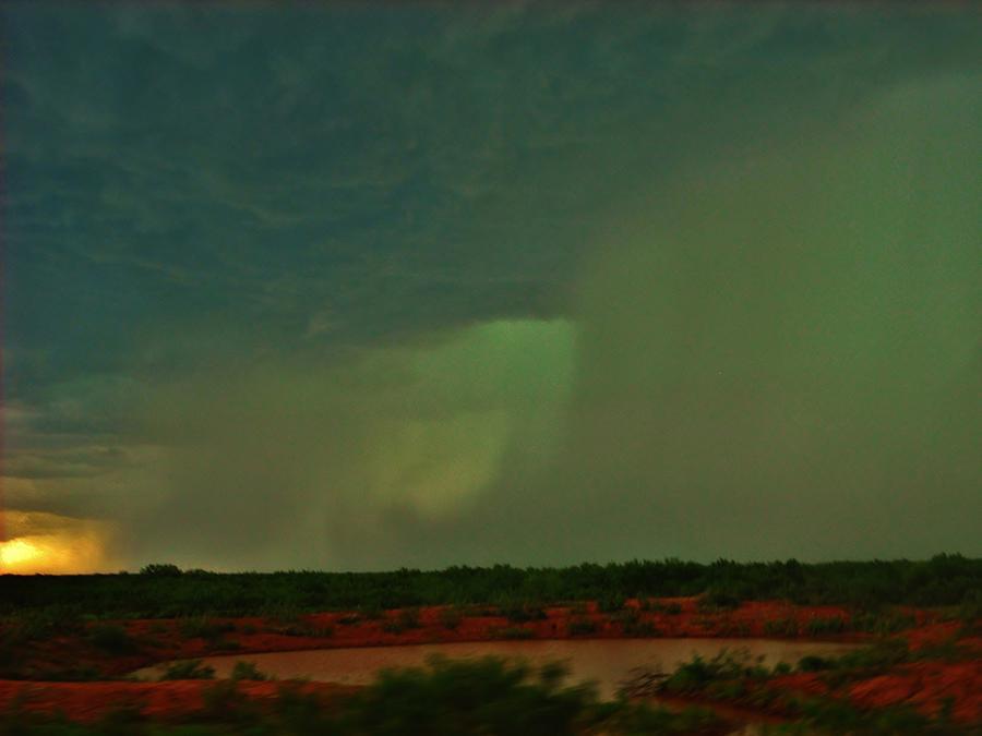 Texas Photograph - Texas Microburst by Ed Sweeney