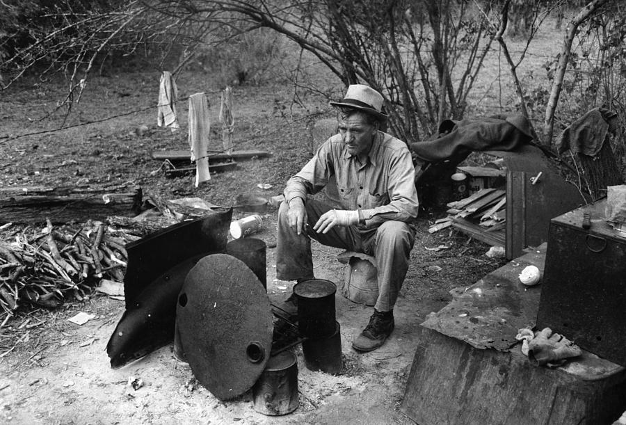 1939 Photograph - Texas Migrant Worker, 1939 by Granger