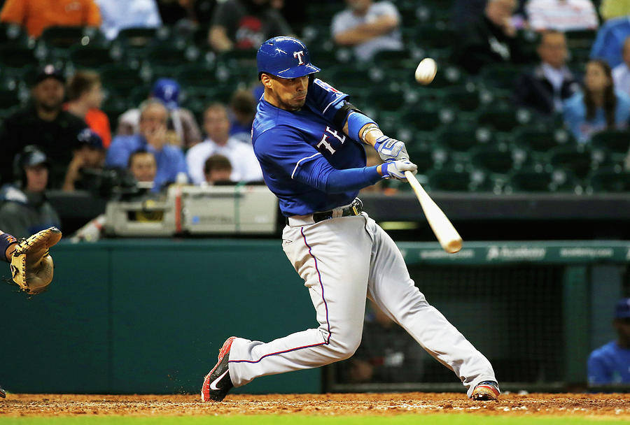 Texas Rangers V Houston Astros Photograph by Scott Halleran