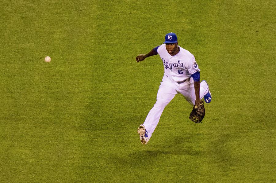 Texas Rangers V Kansas City Royals Photograph by Kyle Rivas