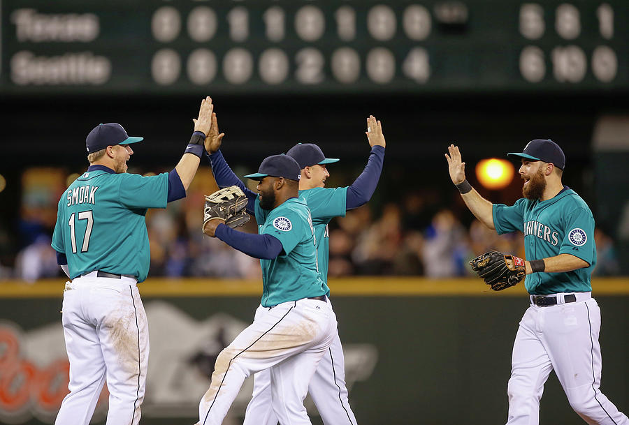 Texas Rangers V Seattle Mariners Photograph by Otto Greule Jr