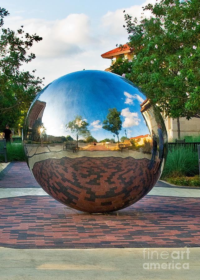 Texas Tech University Photograph - Tech World by Mae Wertz