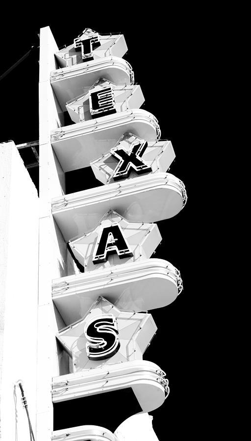 Texas Theater Photograph - Texas Theater by Darryl Dalton