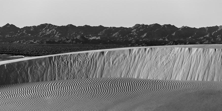 Black & White Photograph - Textures Of Dune by Peter Tellone