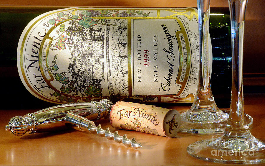 Wine Photograph - Timing Is Everything by Jon Neidert