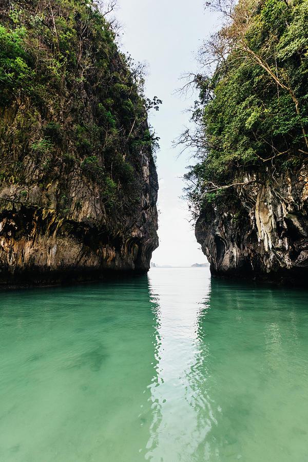 Thailand Lagoon Tropical Island Photograph by Deimagine