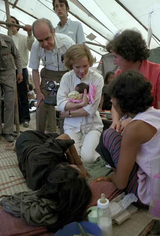 1979 Photograph - Thailand Refugee Camp by Granger