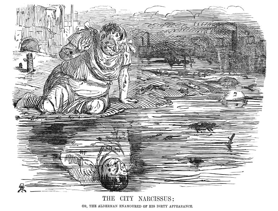 Image result for the city narcissus cartoon -alamy