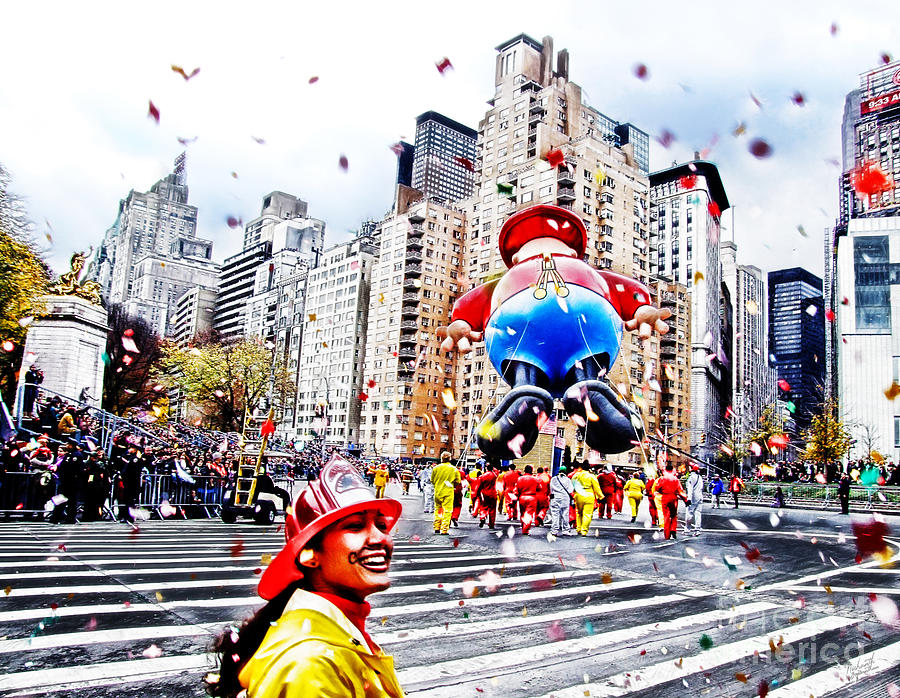 People Photograph - Thanksgiving Parade by Nishanth Gopinathan