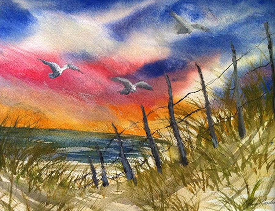 That Day You Never For Get Painting by Karen  Condron