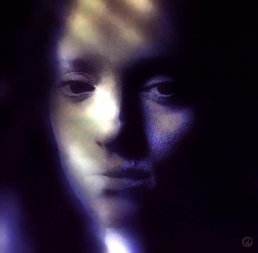 Woman Digital Art - That Empty Feeling by Gun Legler