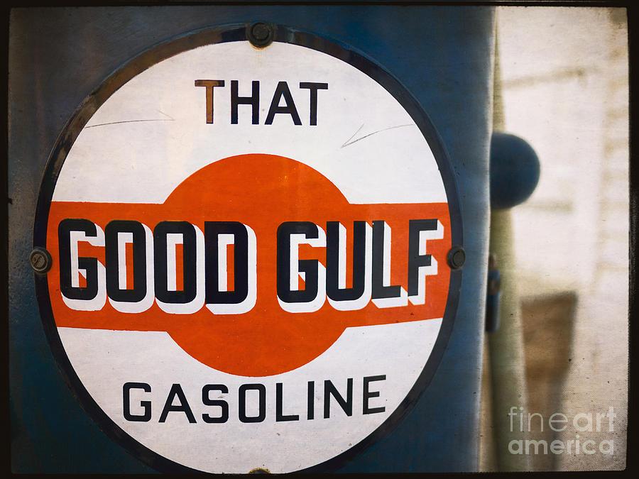 That Good Gulf Gasoline Photograph
