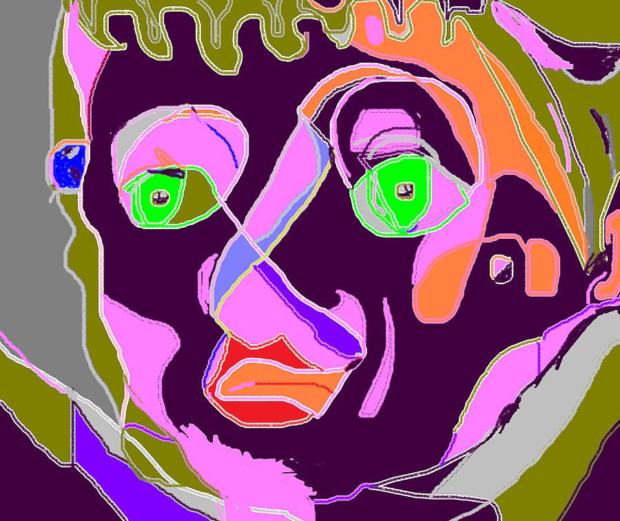 Portaits Painting - That Individual by Anita Dale Livaditis