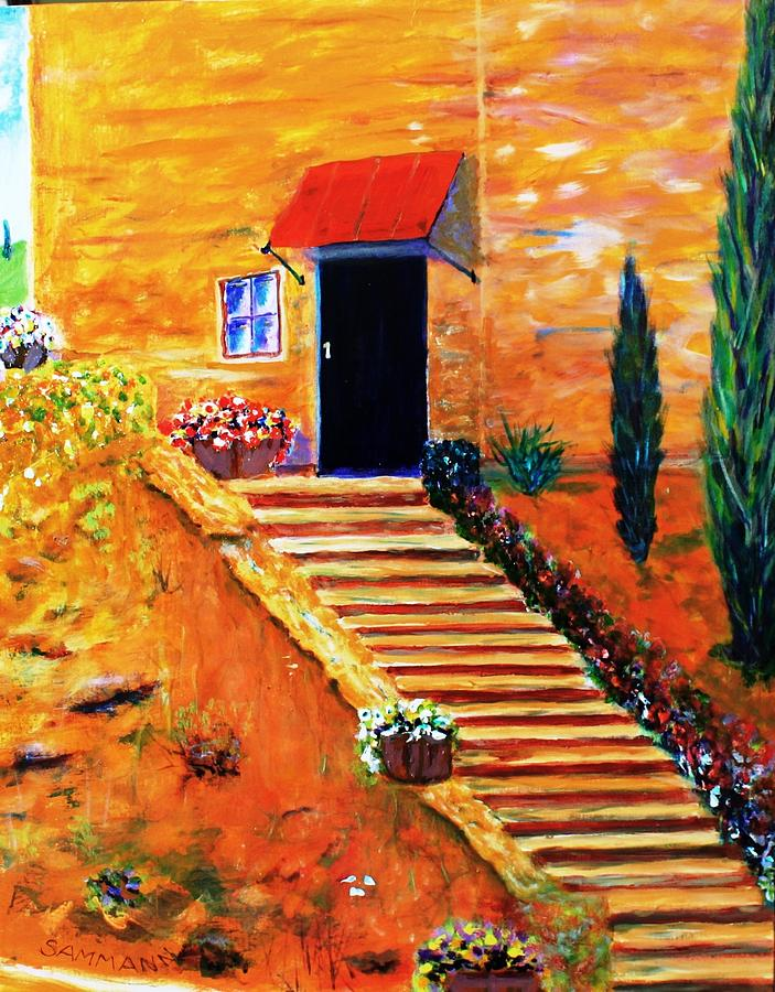Italy Painting - That Night In Tuscany by Ron Sammann