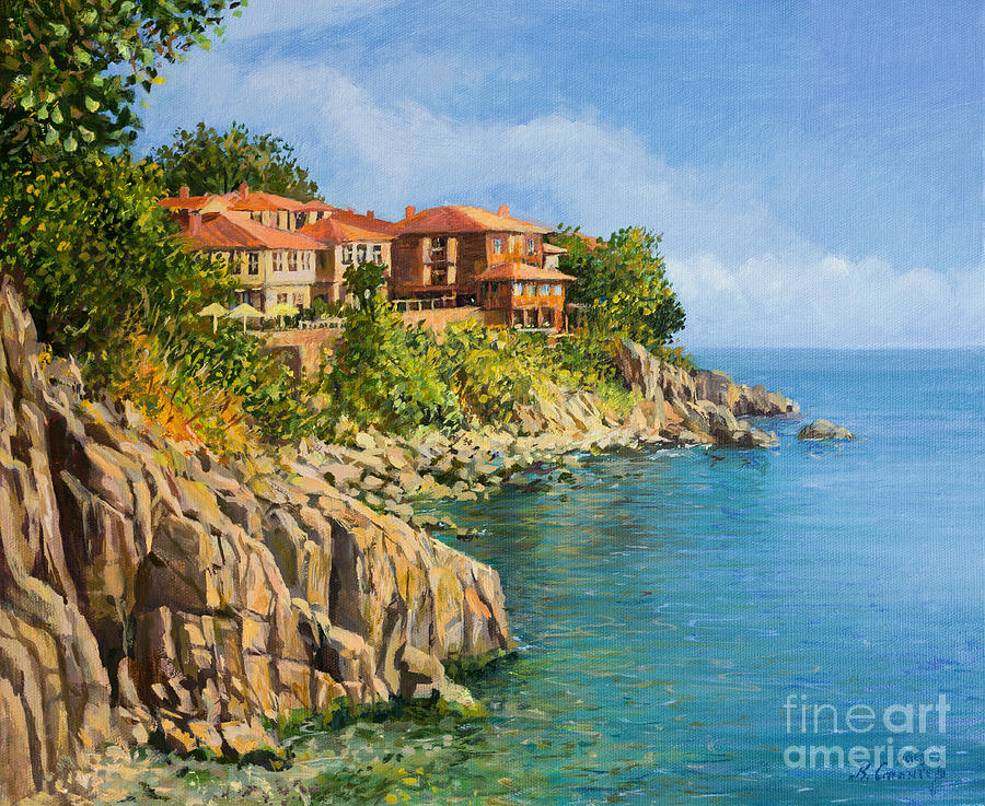 Sea Painting - That Summer by Kiril Stanchev