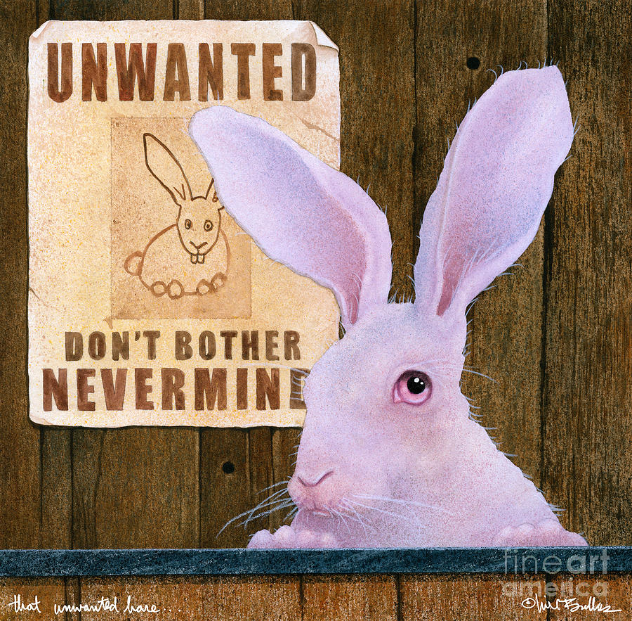 That Unwanted Hare... by Will Bullas