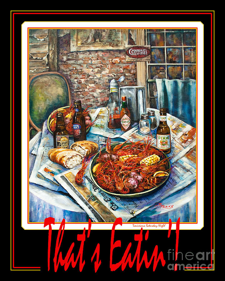 French Quarter Painting - Thats Eatin  by Dianne Parks