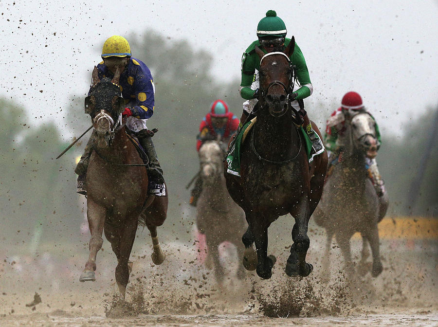The 141st Running Of The Preakness Photograph by Rob Carr