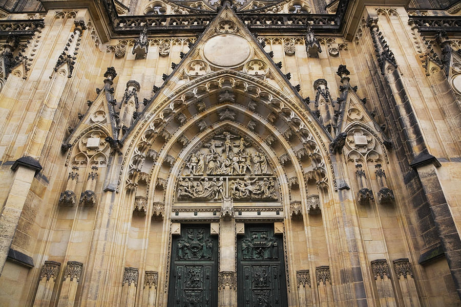 The 14th Century Gothic Style Facade Of Photograph by Perry Mastrovito / Design Pics