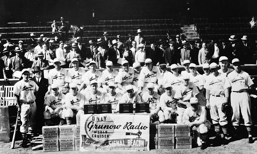 Mlb Photograph - The 1934 St. Louis Cardinals by Retro Images Archive