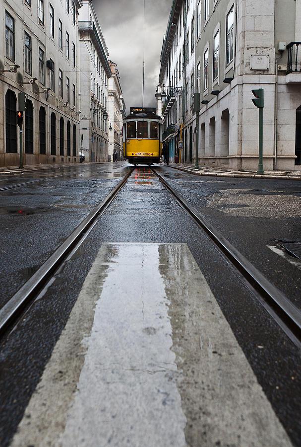 Lisbon Photograph - The 28 by Jorge Maia