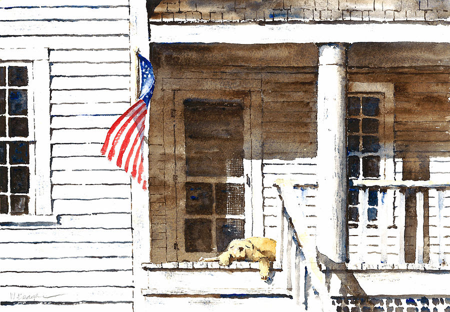4th Of July Painting - The 5th Of July by William Beaupre
