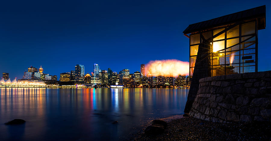 Vancouver Photograph - The 9 Oclock Gun by Alexis Birkill
