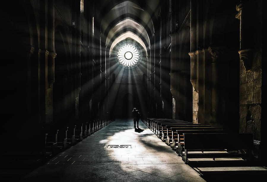 Abbey Photograph - The Abbey by Massimiliano Mancini