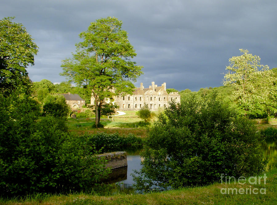 Published Photograph - The Abbey Of Bon Repos by Carol Weitz
