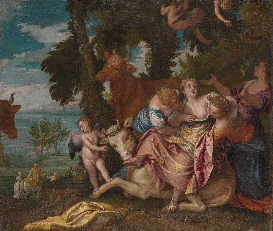 1570 Painting - The Abduction Of Europa by Paolo Veronese