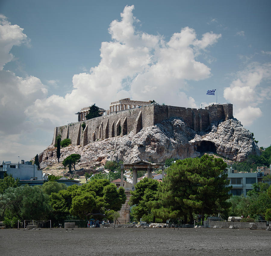 The Acropolis In Athens Photograph by Ed Freeman