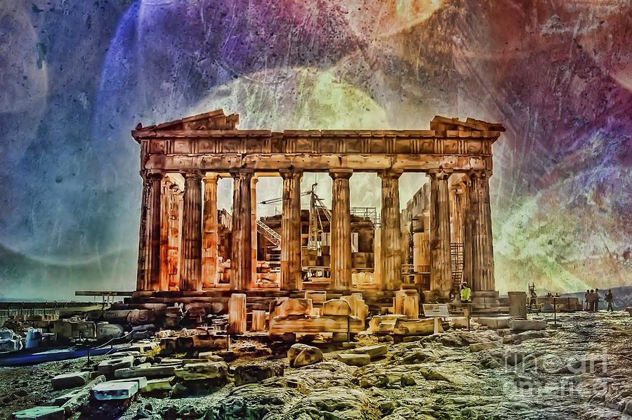 The Acropolis Of Athens Photograph