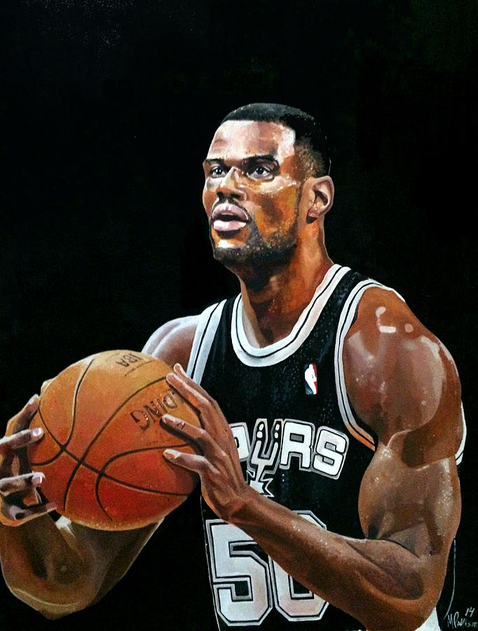 the admiral david robinson painting by michael pattison