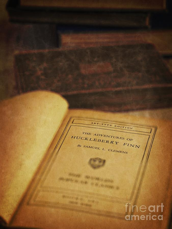 Book Photograph - The Adventures Of Huckleberry Finn by Edward Fielding