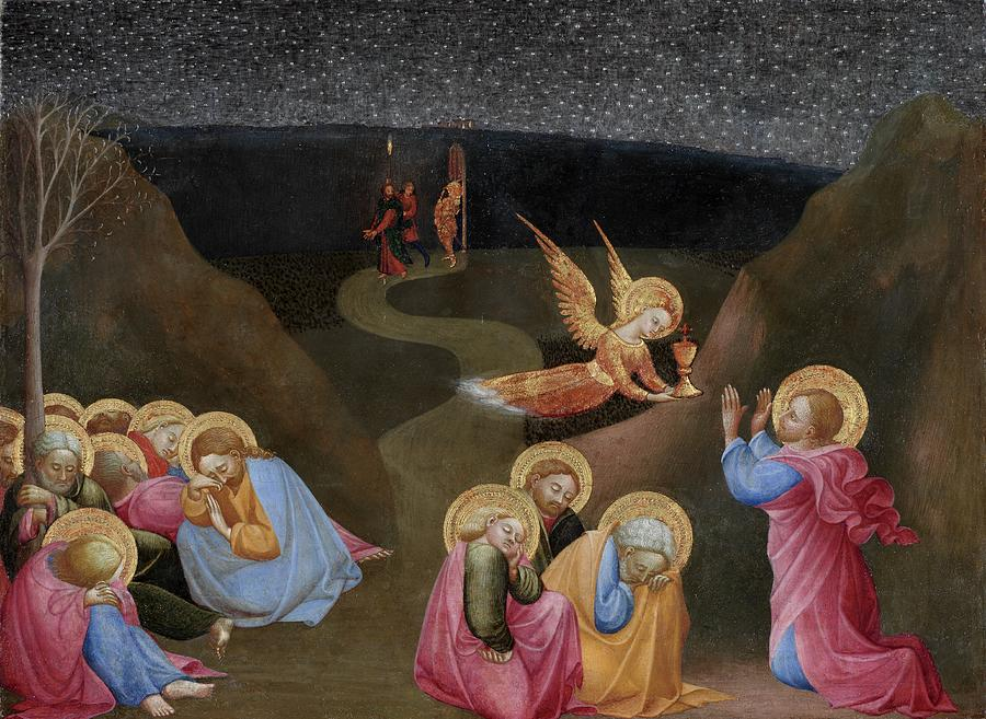 Agony Painting - The Agony In The Garden by Stefano di Giovanni di Consolo