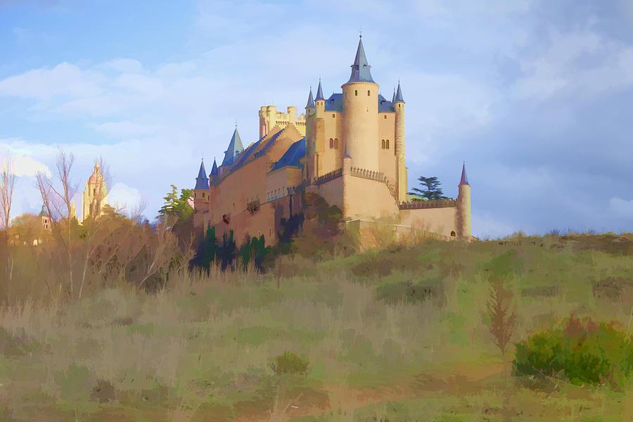 Segovia Photograph - The Alcazer Spain by Indiana Zuckerman