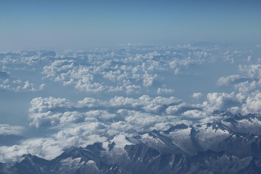 The Alps Photograph by Thenakedsnail