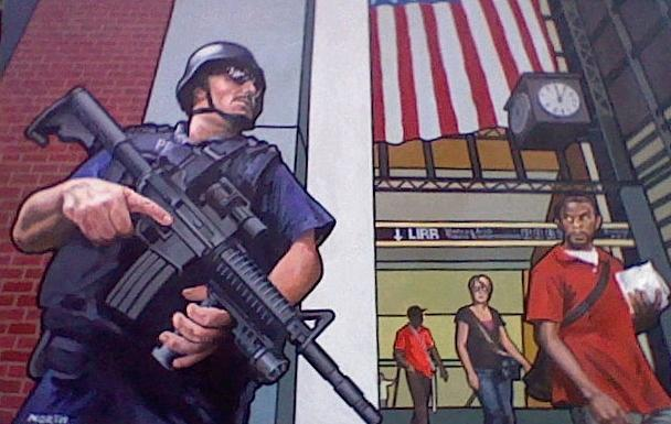 American Dream Painting - The American Dream by Kenneth North