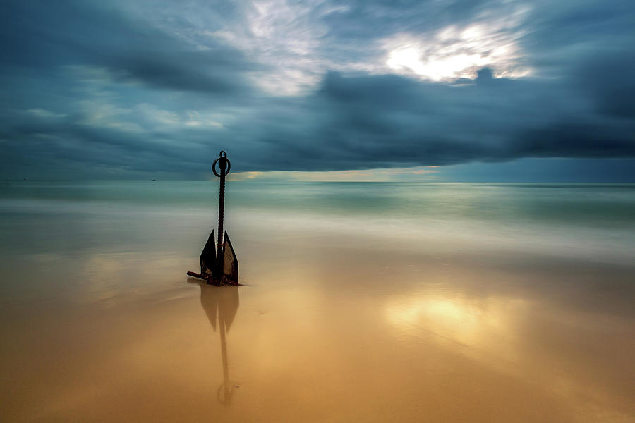 The Anchor Photograph by Arthit Somsakul