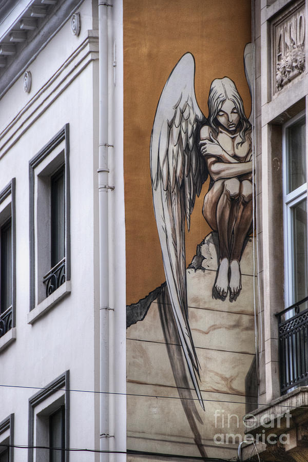 Architecture Photograph - The Angel by Juli Scalzi