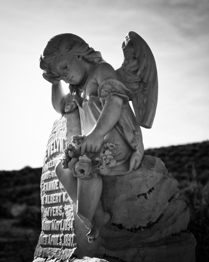Abandoned Photograph - The Angel Of Bodie by Troy Montemayor