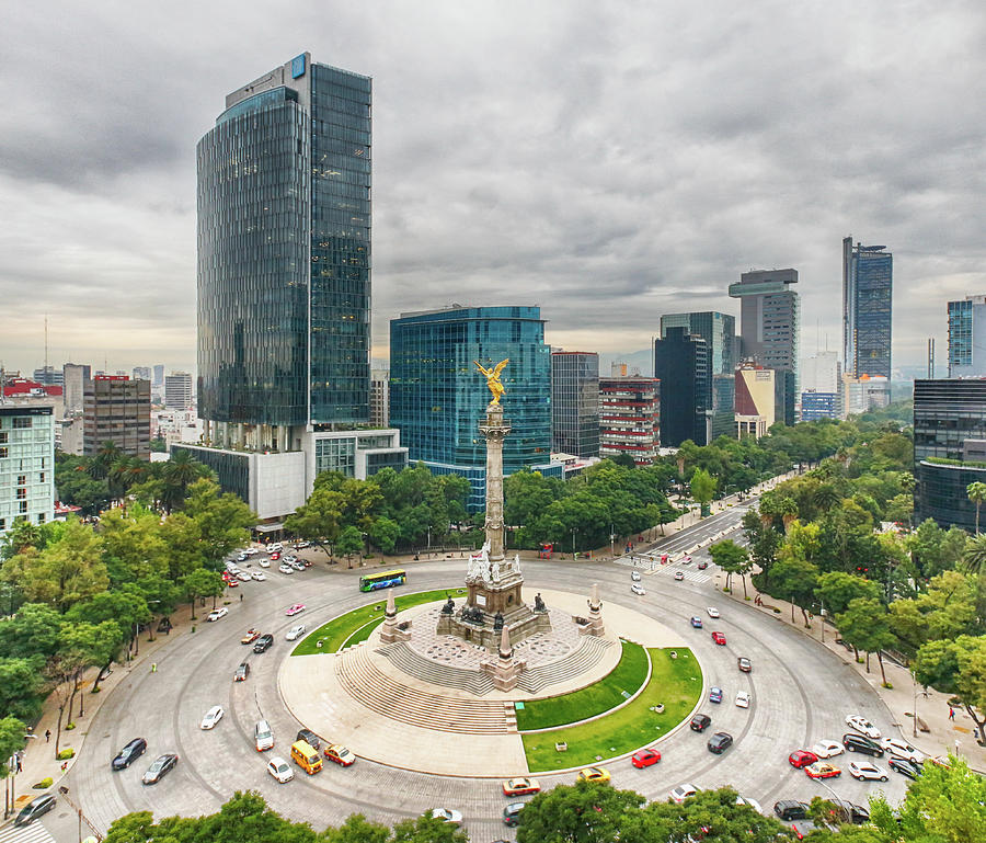 The Angel Of Independence, Mexico City Photograph by Sergio Mendoza Hochmann