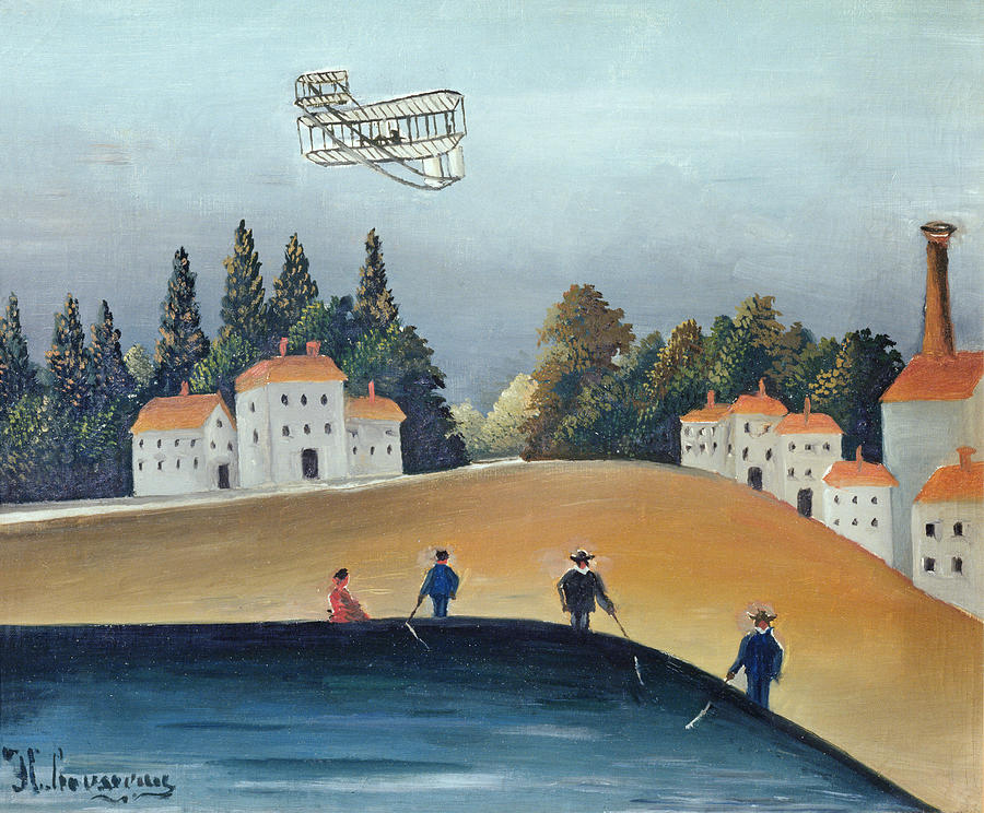 Fishing Photograph - The Anglers, C.1908-09 Oil On Canvas Also See 309520 by Henri J.F. Rousseau