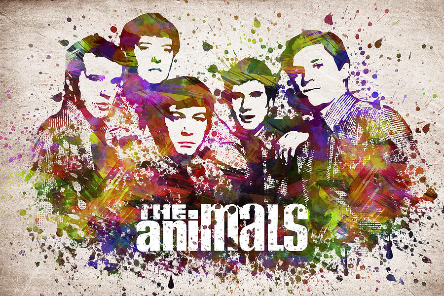 The Animals In Color Digital Art