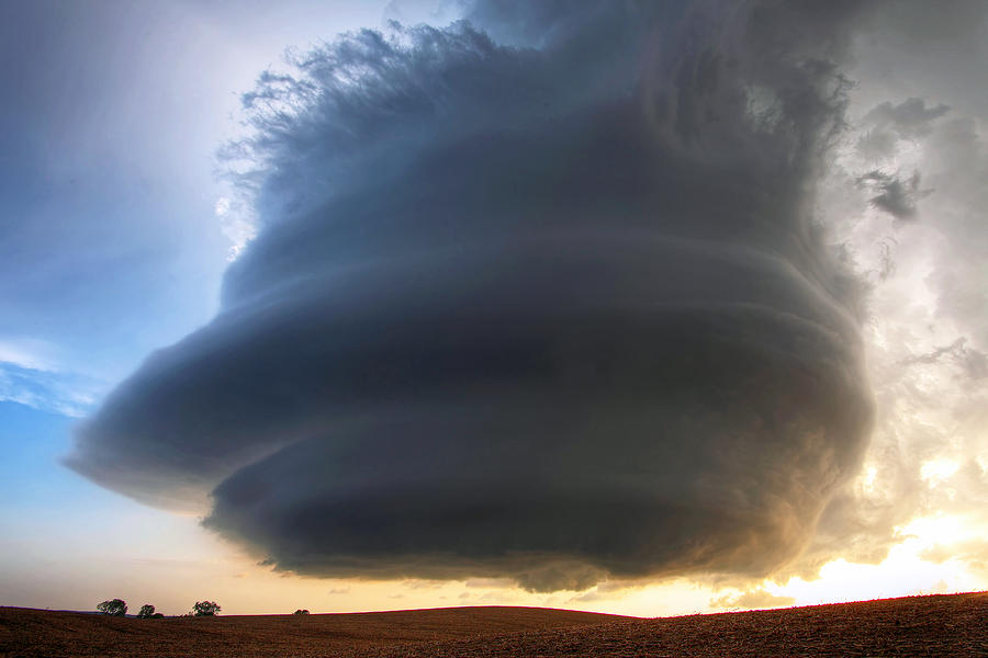 The Ansley Nebraska Storm Photograph