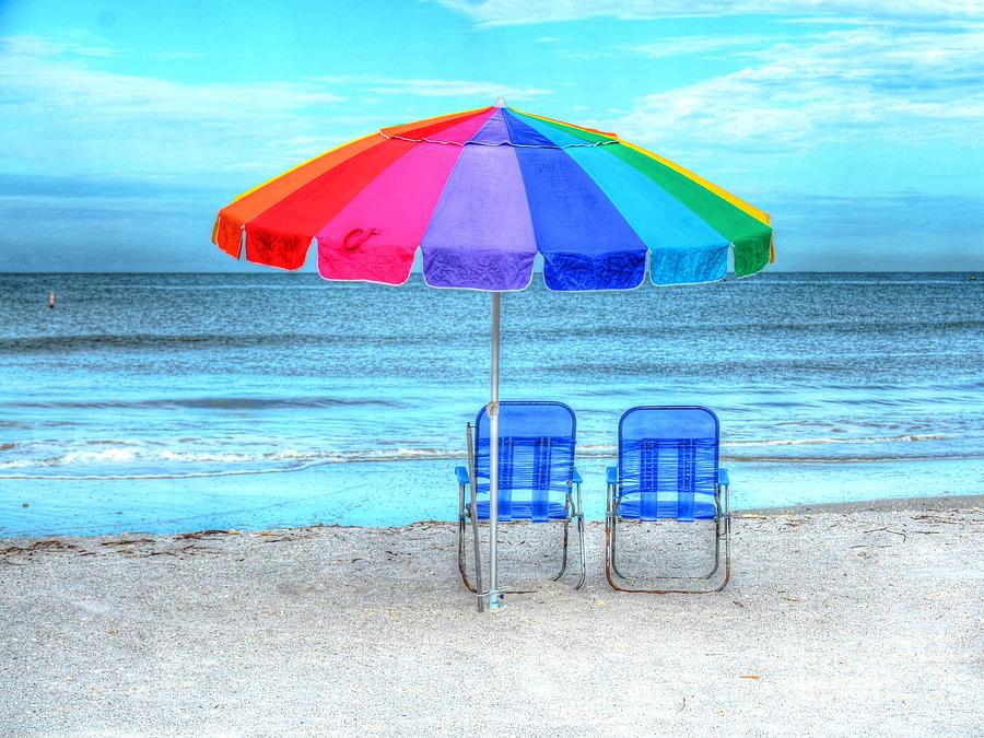 Beach Photograph - The Answer To Prozac by Debbi Granruth