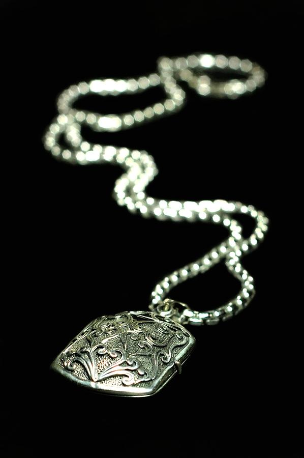 Antique Locket Photograph - The Antique Locket by Diana Angstadt