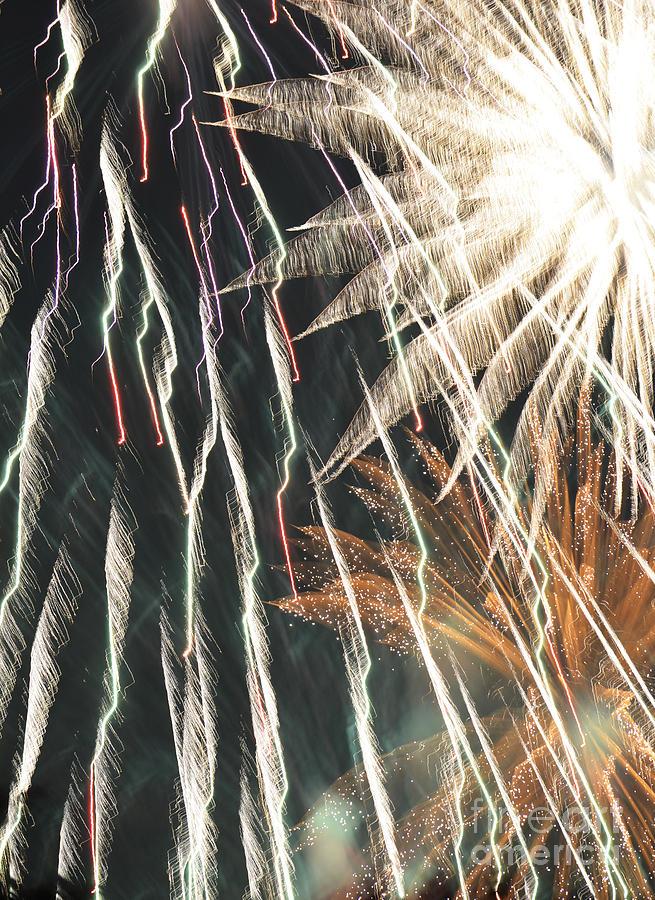 Fireworks Photograph - The Apocalypse by Linda Steele