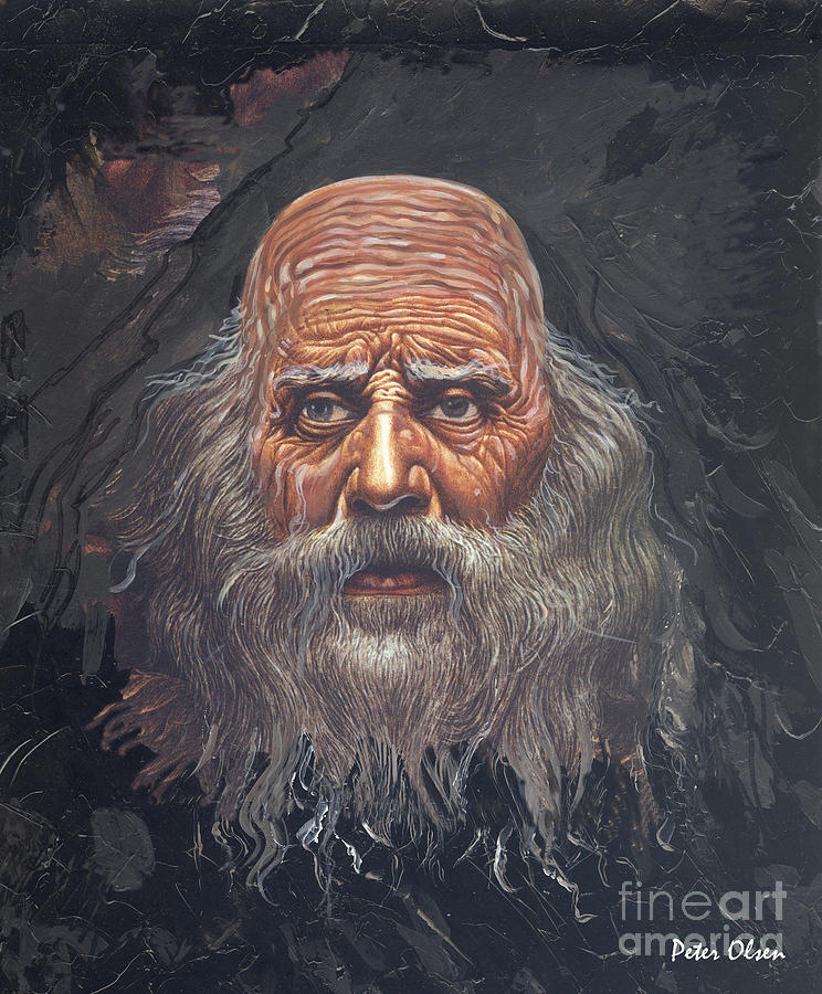 Apostle Painting - The Apostle John by Peter Olsen